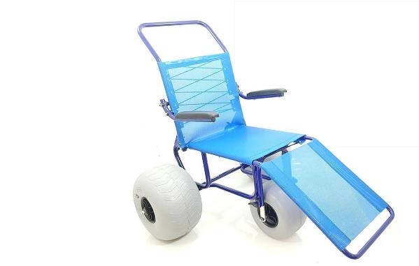 modelo de cadeira de rodas para praia