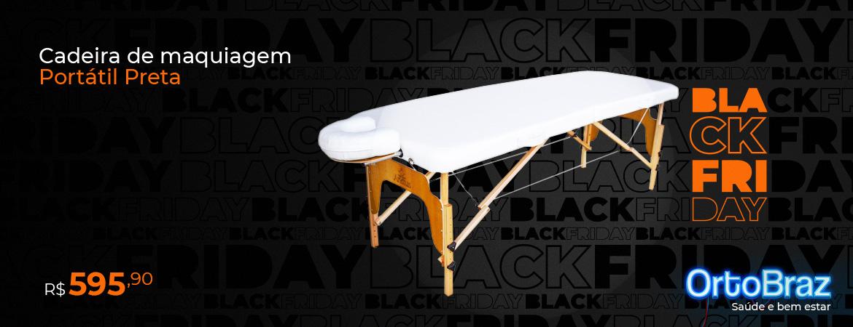Mesa de Massagem Black Friday