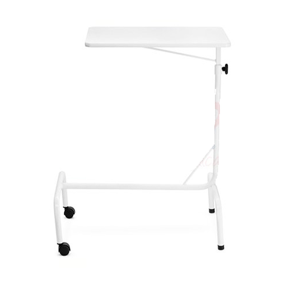 Mesa de refei o com rodas para cama hospitalar - Mesa para cama ...
